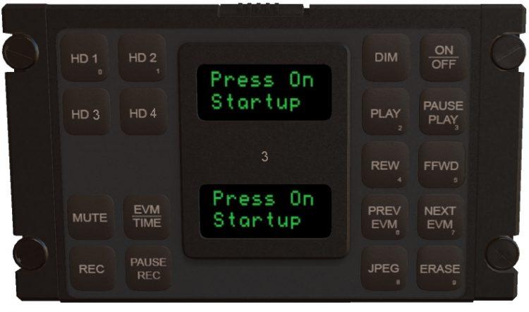 HD QUAD Channel Digital Video Aircraft Recorder